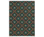 Lakemont Brown Area Rug 5FT3IN x 7FT3IN Silo Image