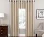 Latte Zinnia Thermal Curtain Panel 84in lifestyle