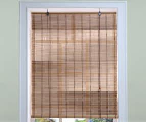 living colors light bamboo roll up blind 24 x 72 big lots. Black Bedroom Furniture Sets. Home Design Ideas