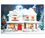 Light Up Christmas Home Musical Canvas 18 Inches by 12 Inches Lights Off Silo Image