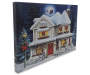 Light Up Christmas Home Musical Canvas 18 Inches by 12 Inches Thickness Shot Silo Image