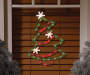 Light Up Christmas Tree Window Art on Window Lifestyle Shot Silo Image