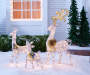 Light-Up Silver Deer, 2-Pack