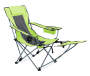 Lime Green Quad Chair with Footrest
