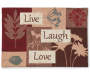 Live, Laugh, Love Inspire Tapestry Placemat