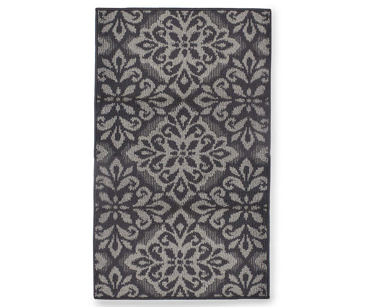 Living Colors Candice Gray Accent Rugs