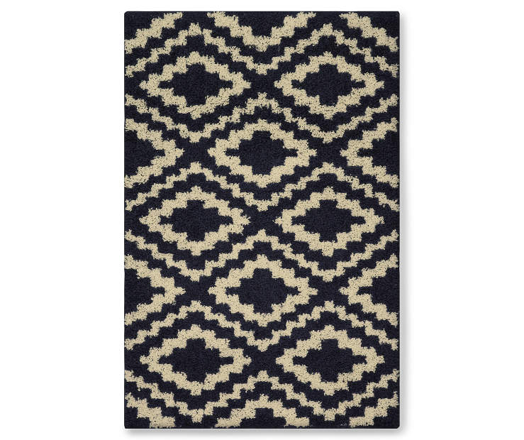 Living Colors Harlow Navy Accent Rugs