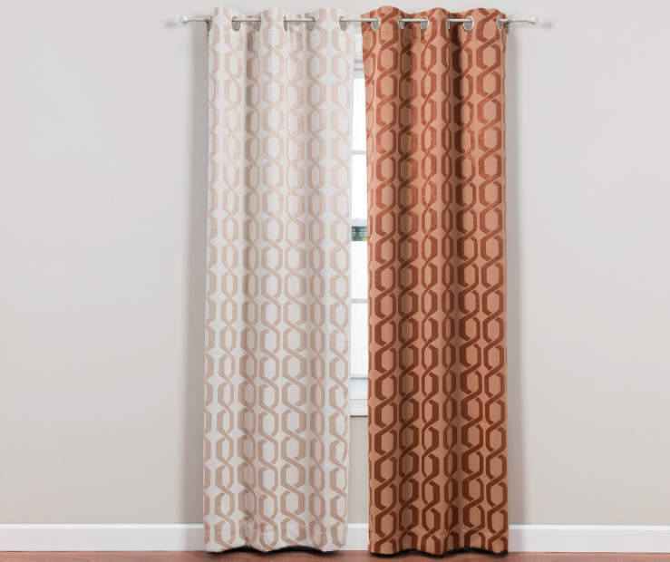 Curtains Ideas blackout panels for curtains : Living Colors Holden Blackout Curtain Panels (84