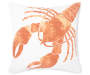 "Lobster Throw Pillow, (18"" x 18"")"