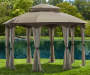 MANHATTAN 10X12FT OVAL GAZEBO