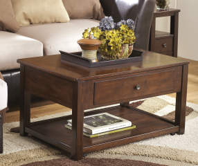 Signature Design By Ashley Marion Brown Lift Top Coffee Table Big Lots