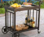 MARWICK SLATE TOP SERVICE CART