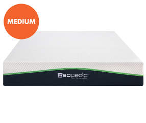 Zeopedic King 10 Quot Gel Infused Memory Foam Mattress In A
