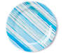 MIXED MELAMINE PATTERNED COASTAL COMFORTS DINNER PLATE
