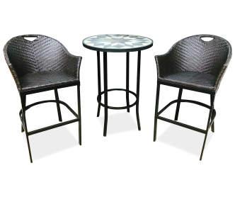 Wilson Amp Fisher Ashford Black Sling Patio Chair Big Lots