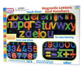 Play Zone Magnetic Letters Amp Numbers Big Lots