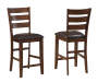 Mango 2-Piece Padded Barstool Set