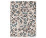 Maples Collection Cream Floral Area Rug 7 by 10 Silo