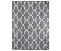 Maples Collection Gray Tile Area Rug, (5' x 7')