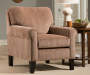 Mega Cinnamon Accent Chair lifestyle