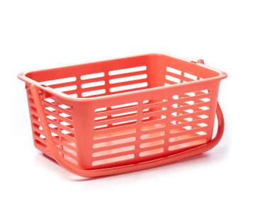 2 25 Melon Plastic Storage Bin