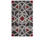 Mesa Bello Pearl Accent Rug 2 Feet 3 Inches by 3 Feet 9 Inches Overhead View Silo Image