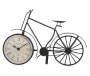 Metal Bicycle Clock Side Angle