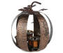 Metal Pumpkin Candle Holder with Candle Silo Image