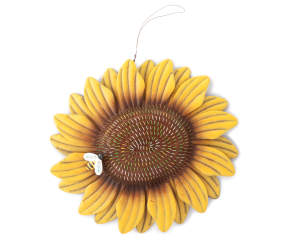 Metal Sunflower Hanging Wall D 233 Cor Big Lots