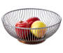 Metal and Wood Kitchen Basket silo front with food props