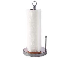 Master Cuisine Metal Amp Wood Paper Towel Holder Big Lots