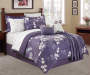 Milly 12 Piece King Bed In A Bag on Bed Room View