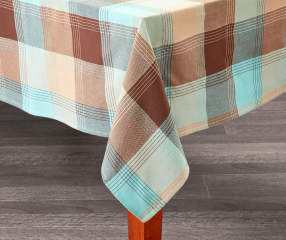 Master Cuisine Mineral Plaid Tablecloth 60 Quot X 84 Quot Big