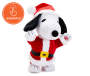Mini Christmas Animated Dancing Snoopy Front View with Animation Tag Silo Image