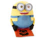 Minion Halloween Porch Greeter with Halloween Bag Silo Image