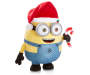 Minion Holiday Porch Greeter Angled View Silo Image