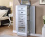Mirror Jewerly Armoire Drawers Out Room View