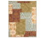Monaco Collection Damask Accent Rug Silo