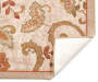 Monaco Collection Jacobean Area Rug 5ft x 6ft 7in silo front