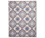 Monaco Collection Medallion Area Rug 6 Feet 7 Inches by 5 Feet Overhead View Silo Image