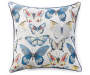 Monarch Butterfly Outdoor Throw Pillow 24in x 24in silo front