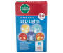 Multi Color Sphere LED Light Set 60 Count in Package