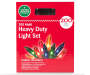 Multi-Color Heavy Duty String Light Set 200-Count in Package