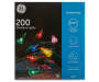 Multi-Color Mini Light Set 200-Count Silo Image In Package