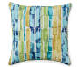 Multi-Color Print Outdoor Throw Pillow Silo