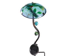 Wilson Amp Fisher Mushroom Hummingbird Solar Stake Big Lots