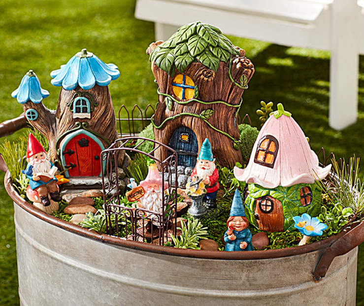 mystical moments fairy garden collection big lots