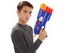 N Strike Elite Dual Strike Blaster silo with child prop