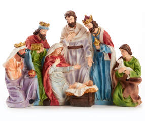 Winter Wonder Lane Nativity Scene D 233 Cor Big Lots