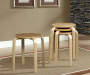 Natural Bentwood 4 Piece Stool Set lifestyle